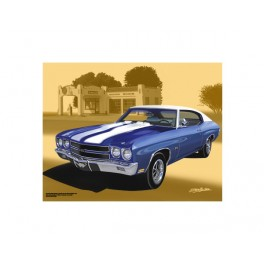 1970 Chevrolet Chevelle SS Muscle Car Art