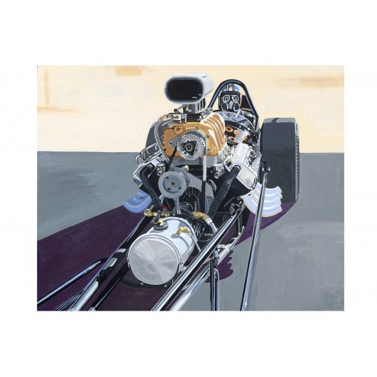 Blaylock and Johnson Top Fuel Dragster Limited Edition Drag Racing Art Print