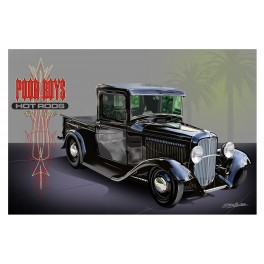 Poor Boys '32 Ford pickup Street Rod Art