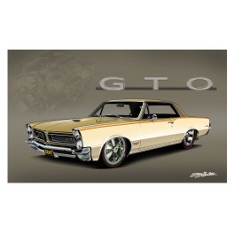 1965 Pontiac GTO Automotive Art