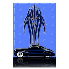 Custom Mercury automotive art