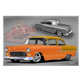 1955 Chevy Automotive Art