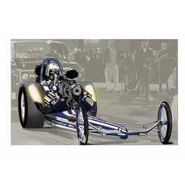 1968 Jerry Ruth Top Fuel Dragster drag racing art