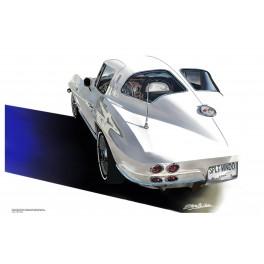 1963 Corvette split window automotive art