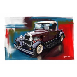 Jerry's Truck 1929 Ford Pickup Automotive Art