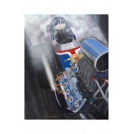 Ruth Top Fuel Dragster drag racing art